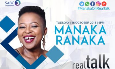 Manaka Ranaka speaks to Azania Mosaka on Real Talk On 3