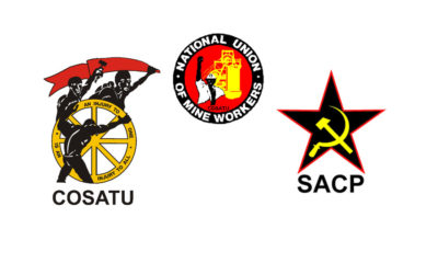 NUM, COSATU and SACP to march to parliament this Saturday