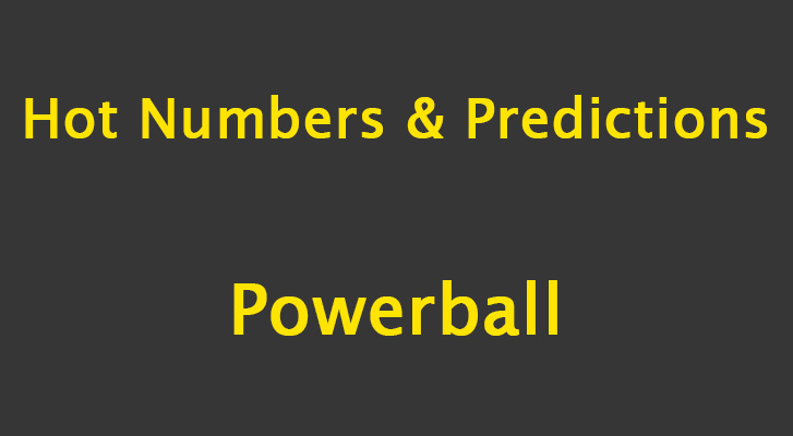 Powerball Predictions and Hot Numbers: 1 March 2019 – Political