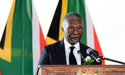 Mbeki reveals who he's voting for while campaigning for the ANC