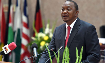 Kenyatta calls on America to support African solutions to African problems