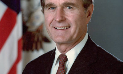 Buhari sends condolences to Americans over loss of ex-president Bush