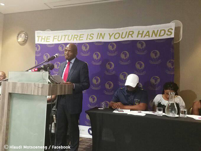 """You can't take land by force"", says Hlaudi Motsoeneng at party launch"