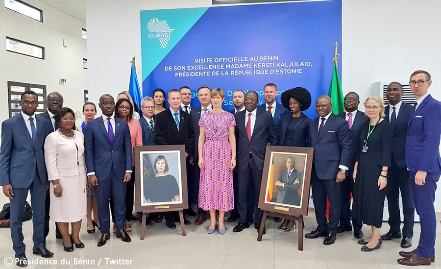 Benin, Estonia sign MOU to boost bilateral cooperation