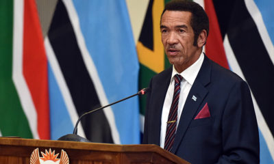 Former president Khama urges Batswana not to vote for the ruling BDP