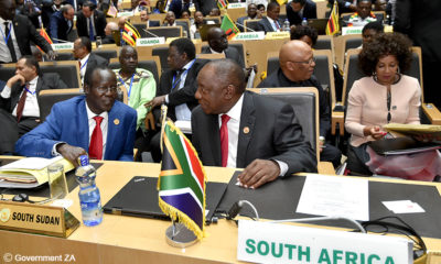 Ramaphosa attends AU summit in Addis