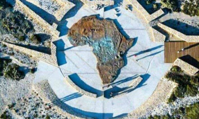 Map of Africa Monument unveiled in Cape Town