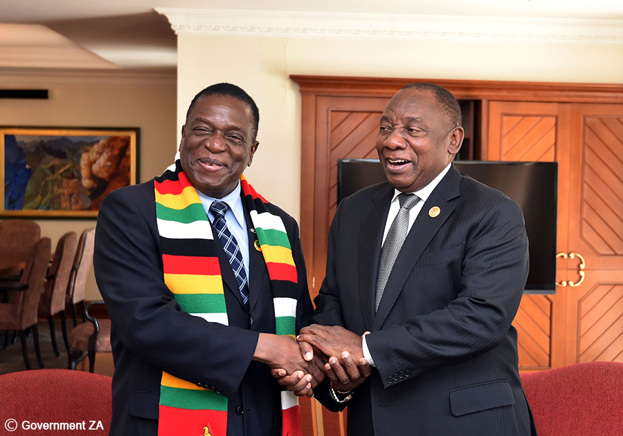 SA and Zim come together for a Bi-National Commission meeting in Harare