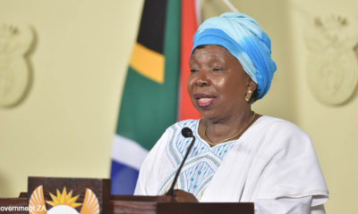 Mkhwebane rules no laws were broken when Dlamini-Zuma was awarded VIP protection in 2017