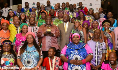 President Ramaphosa hails Soweto Gospel Choir as the country's best export