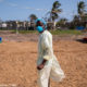 Mozambique suffers a cholera outbreak, following tropical storm flood