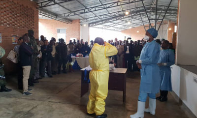 Rwanda trains and prepares for emergency Ebola outbreaks amid DRC's pandemic