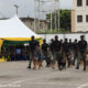 Nigeria. police deploy police dogs to combat crime at railway stations