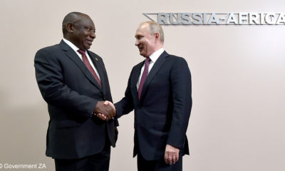 South Africa's President Ramaphosa attends inaugural Russia-Africa Summit