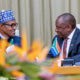 President Buhari lands in South Africa for state visit