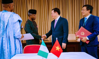 Nigeria and Vietnam's joint commission will focus on agriculture, security