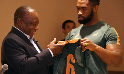 President Ramaphosa expresses great pride at Springboks win