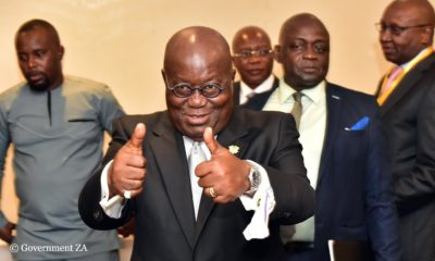 President Akufo-Addo calls on Ghanaians to count their 2019 blessings
