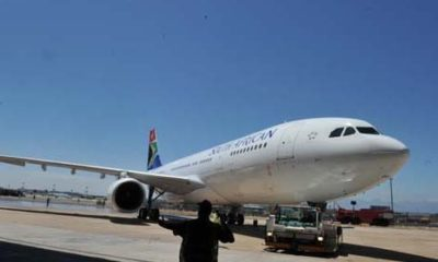 Six-hundred pilots block the dismantling of South African Airways