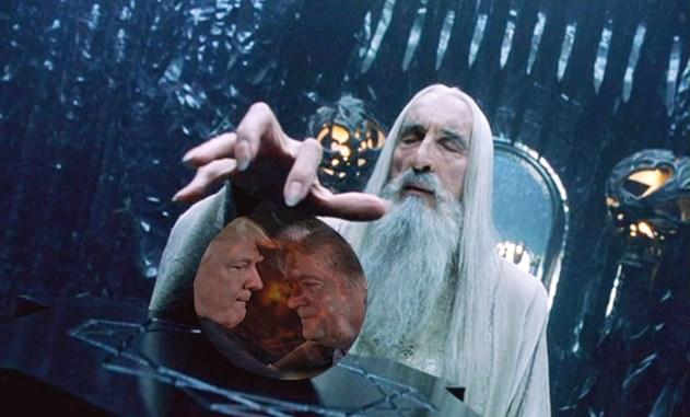 Trump Saruman