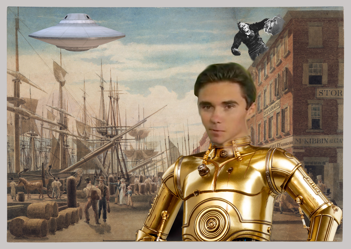 Does This Photo Prove Alleged School Shooting Survivor David Hogg Is Actually A 235 Year Old Extra-Terrestrial Transgender Robot Clone?