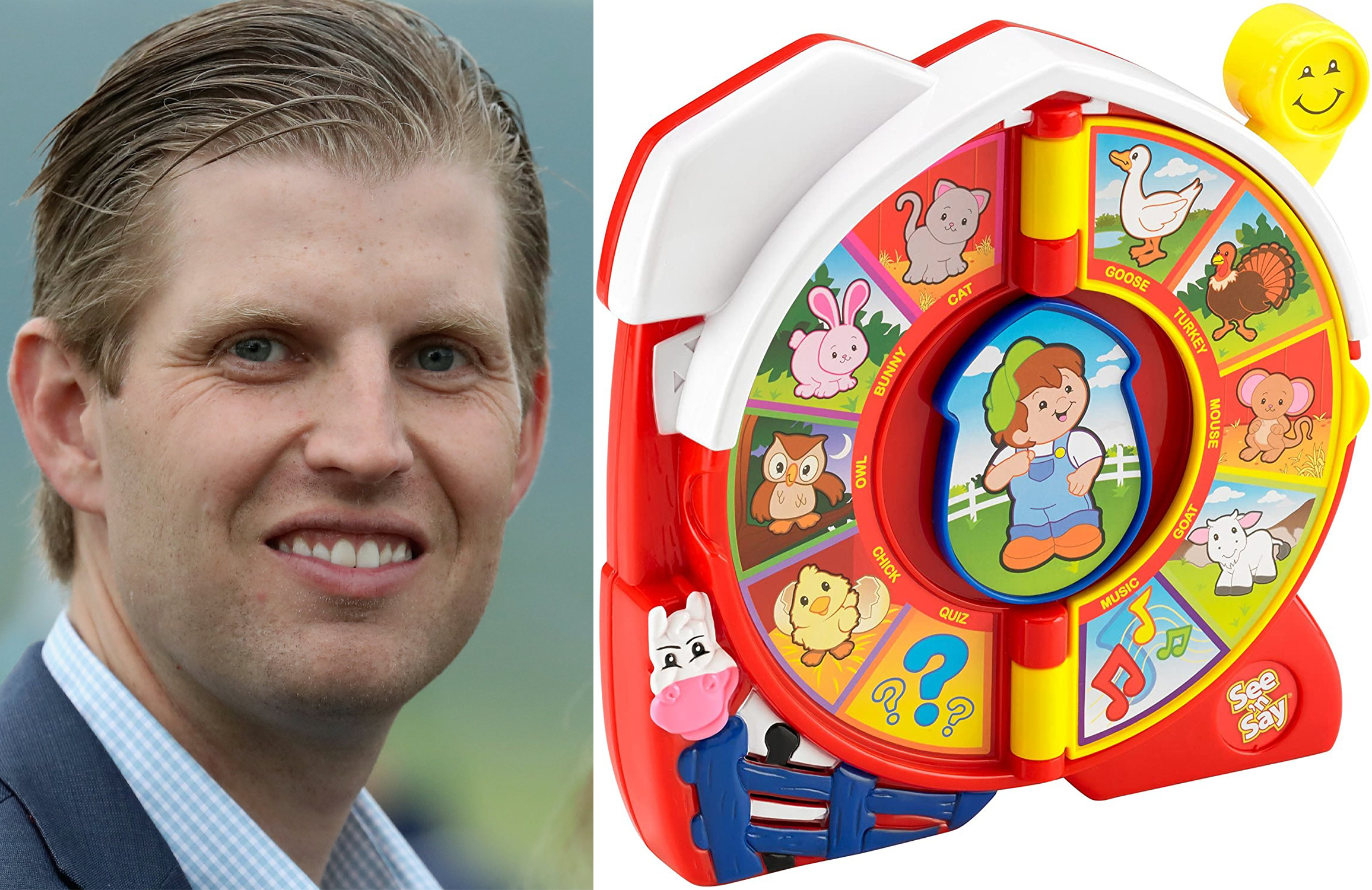 FBI Investigating Contents of Eric Trump's See 'n Say