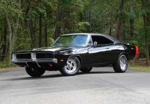 1969 Black Dodge Charger