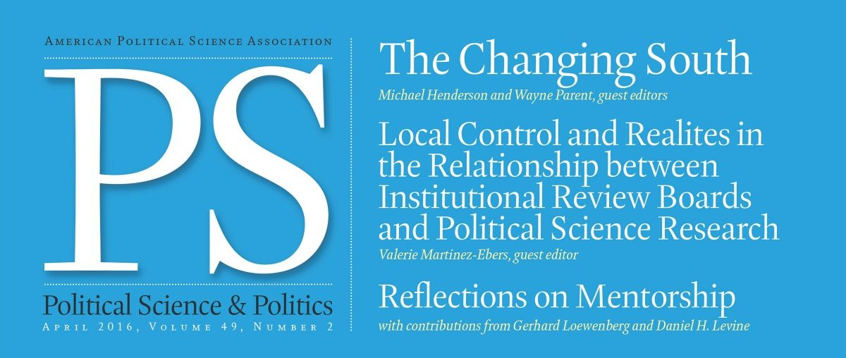 political sciences What part of your life is not influenced by politics or public policy come engage our political science professors and students in this.