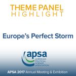 Theme Panel: Europe's Perfect Storm