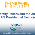 Theme Panel: Identity Politics and the 2016 US Presidential Election