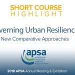 Governing Urban Resilience: New Comparative Approaches