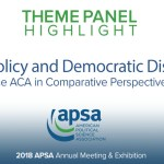 Theme Panel: Health Policy and Democratic Discontent
