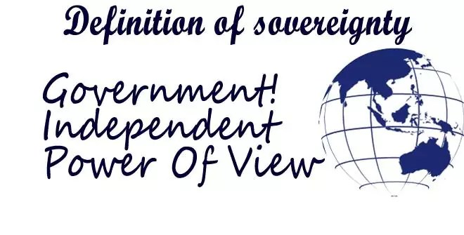 definition of sovereignty in political science
