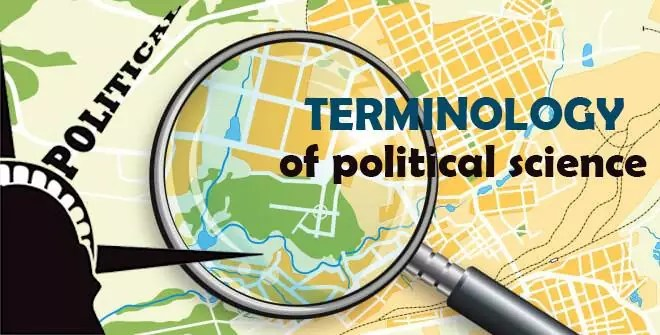 Terminology of political science