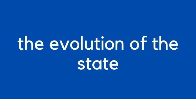 the evolution of the state