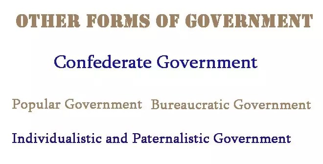 Succession of government forms
