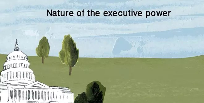 Nature of the executive power
