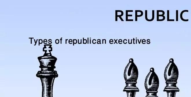 Types of republican executives