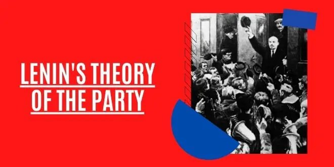 Lenin's Theory of The Party