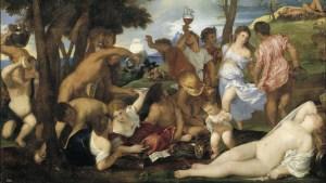 Bacanal de los andrios (Tiziano)