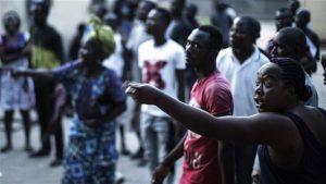 Des électeurs mécontents à Brazzaville Photo : AFP/MARCO LONGARI