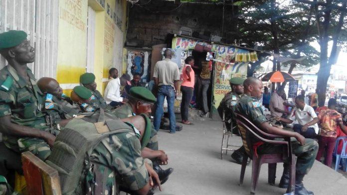 Des éléments de l'armée à Kinshasa, le 18 décembre. Photo DR.