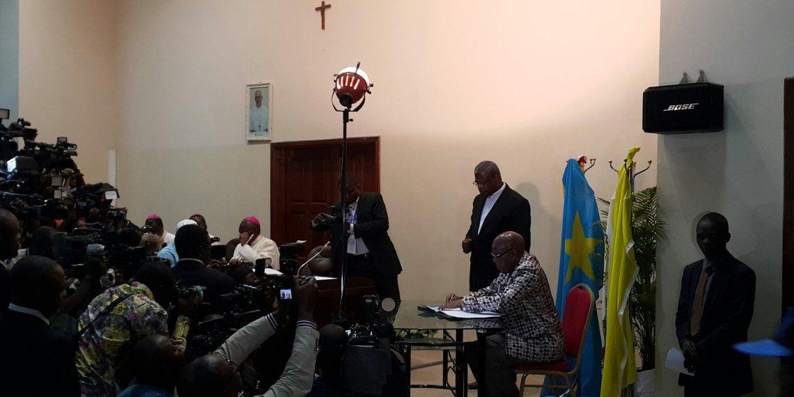 RDC: Signature de l'accord sanctionnant le dialogue inclusif