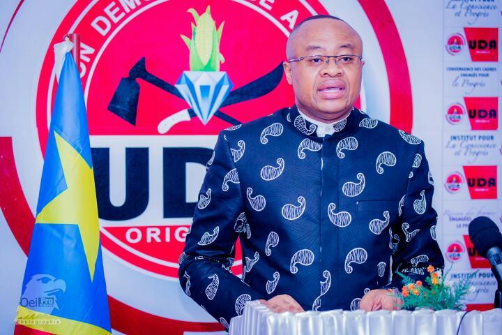 """Claudel Lubaya : """"la déclaration de la CENI est une agression contre la patrie"""""""
