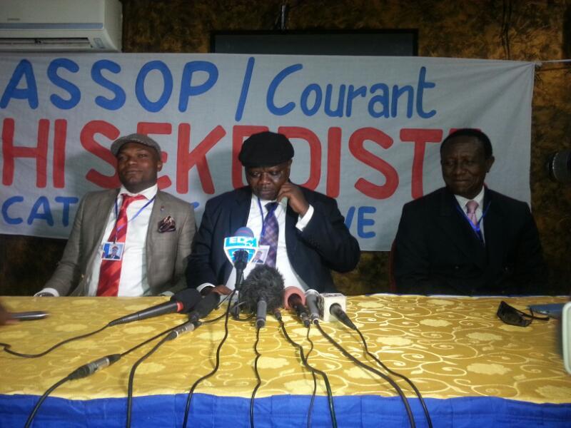 """Jean-Pierre Lisanga: """"Nous n'avons pas peur de Katumbi qui n'a même pas unparti politique"""""""