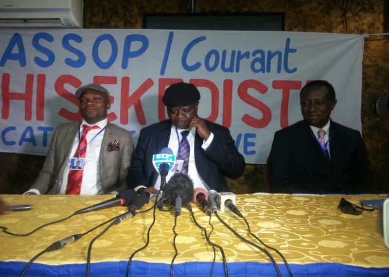 Jean-Pierre Lisanga: «Nous n'avons pas peur de Katumbi qui n'a même pas unparti politique»