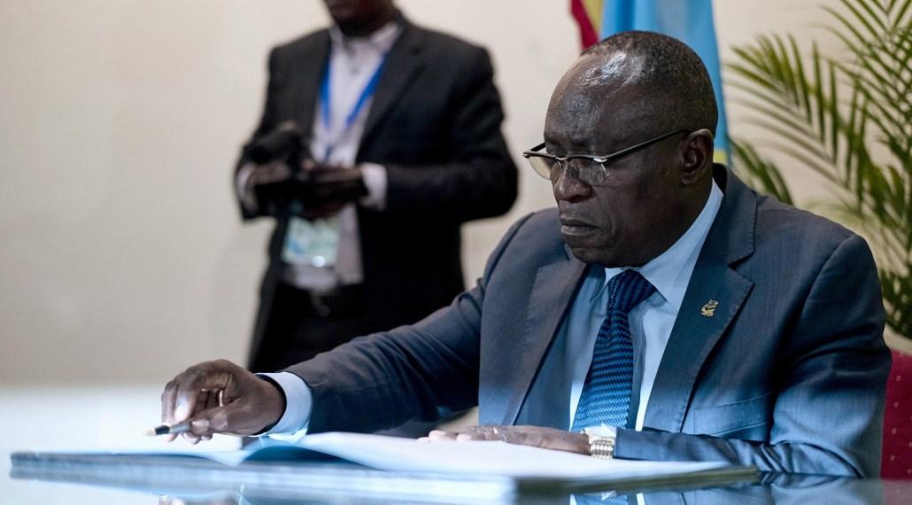 Valentin Mubake, symbole d'une Unionen crise