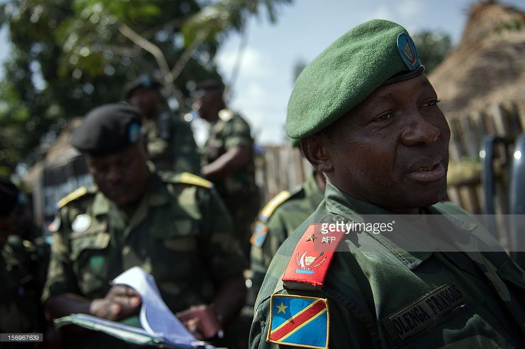 Drôle d'affaire pour le général Olenga en Namibie