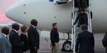 """Voici pourquoi Nikki Haley est arrivée """"en avion militaire"""" à Kinshasa"""