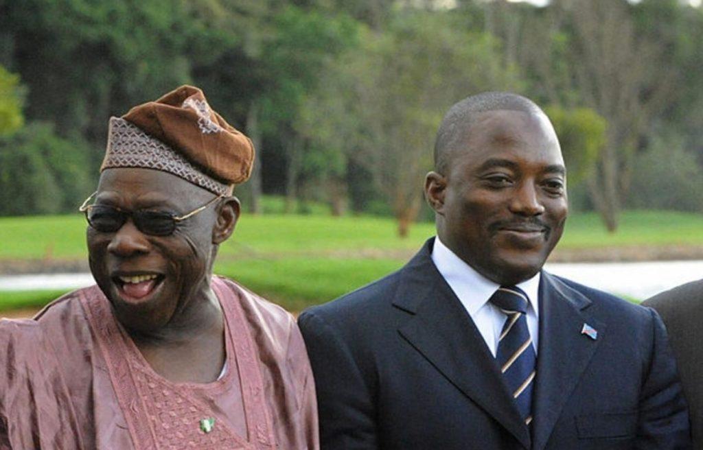 """Pour Olusegun Obasanjo, Joseph Kabila doit quitter le pouvoir """"pour son intérêt"""""""